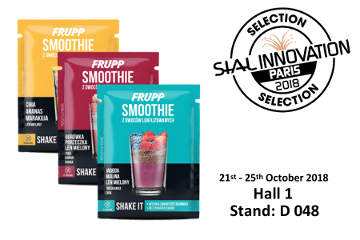 SIAL Innovation Selection 2018 dla FRUPP Smoothie