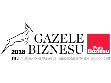 Celiko S.A. in the Business Gazelle 2018 ranking